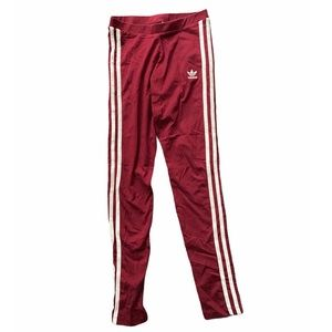Adidas Maroon Leggings